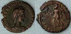 RIC.34b1 Valentinien II (AE3, Victoria A...