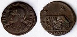 RIC.351 Rome (AE3, Arles, SCONST*)