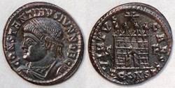 RIC.322 Constantin II (AE3, Virtvs Caess...