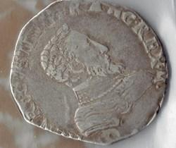 François II au nom de Henri II, teston, ...