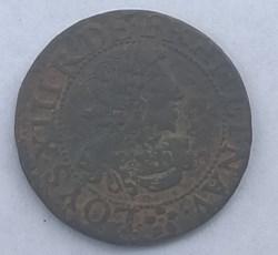 LOUIS XIII LE JUSTE Double tournois 1638...