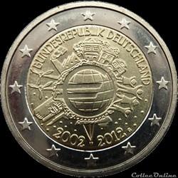 10 Ans de l'Euro Allemagne 2012