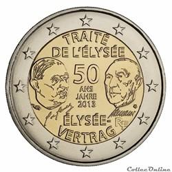 Traité de l'Elysée 50 ans France 2013