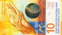 Billet de 10 francs suisse