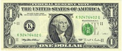 Billet de 1 dollar USA
