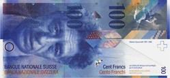 Billet de 100 francs suisse