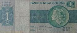 Billet de 1 cruzeiro brésilien