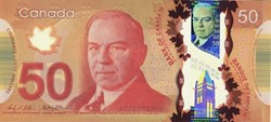 Billet de 50 dollars canadien