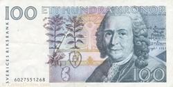 Billet de 100 couronnes suédois