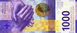 Billet de 1000 francs suisse