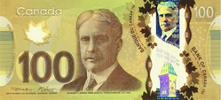 Billet de 100 dollars canadien