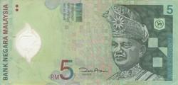 Billet de 5 ringgit malaisien