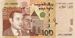 Billet de 100 dirhams marocain