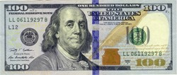 Billet de 100 dollars USA