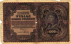 Billet de 1000 marek polonais