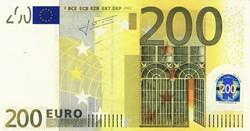 Billet de 200 euros (zone euro)