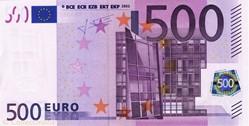 Billet de 500 euros (zone euro)