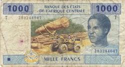 Billet de 1000 francs congolais
