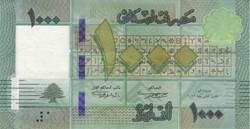 Billet de 1000 livres libanais