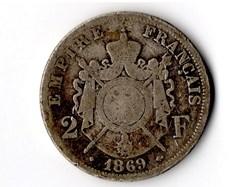 2 francs Napoléon III, tête laurée
