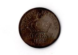 50 centimes Napoléon III, tête laurée