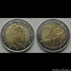 2 euros Ruban Rose 2017