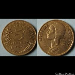5 centimes Marianne 1977
