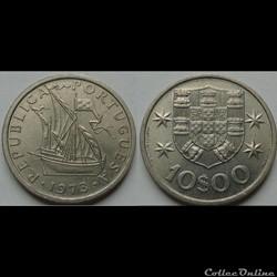 10 escudos 1973