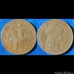5 centimes Dupuis 1916