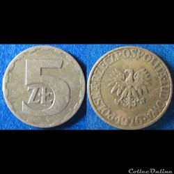 5 zlotych 1976