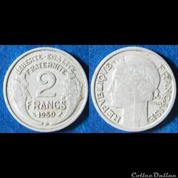 2 francs Morlon 1950 B