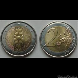 2 euros Les Bleuets de France 2018