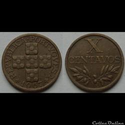 10 centavos 1967