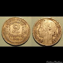 2 francs MORLON 1948B