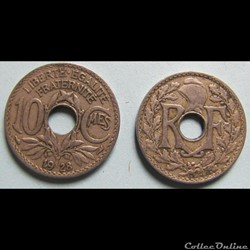 10 centimes LINDAUER 1928