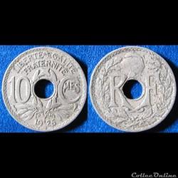 10 centimes Lindauer 1926