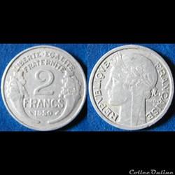 2 francs Morlon 1950