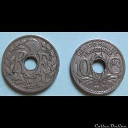 10 centimes LINDAUER 1931