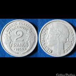 2 francs Morlon 1959
