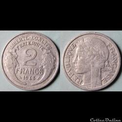 2 francs Morlon 1948