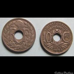 10 centimes LINDAUER 1924