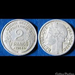 2 francs Morlon 1958