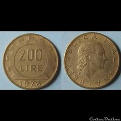 Monnaie Italie moderne