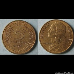 5 centimes MARIANNE 1978
