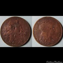10 centimes DANIEL-DUPUIS 1916