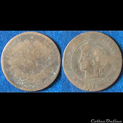 5 centimes Cérès 1872 (?)