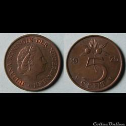 Monnaie moderne Pays-Bas