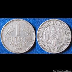 Monnaie Allemagne République fédérale