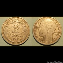 2 francs MORLON 1947