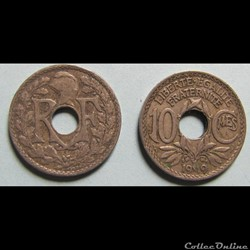 10 centimes LINDAUER 1919